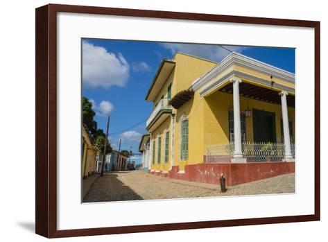 Cuba, Sancti Spiritus Province, Trinidad-Inger Hogstrom-Framed Art Print