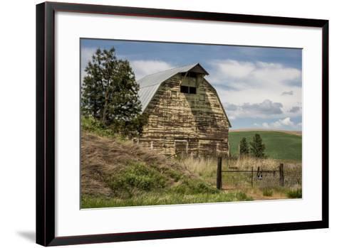 Washington State, Palouse, Whitman County-Alison Jones-Framed Art Print