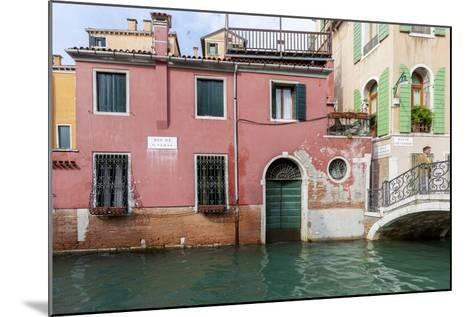 Bridge over Canal. Venice. Italy-Tom Norring-Mounted Photographic Print