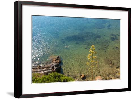 Cliffs of Talamone, Grosseto Province, Maremma, Tuscany, Italy-Nico Tondini-Framed Art Print