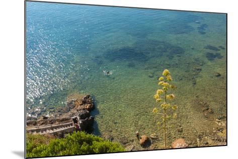 Cliffs of Talamone, Grosseto Province, Maremma, Tuscany, Italy-Nico Tondini-Mounted Photographic Print