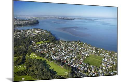 Titirangi Golf Course, Green Bay, and Manukau Harbour, Auckland, North Island, New Zealand-David Wall-Mounted Photographic Print