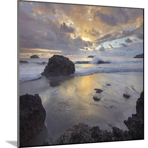 Sunset Light on the Clouds over the Ocean, Manuel Antonio National Park, Costa Rica-Tim Fitzharris-Mounted Photographic Print