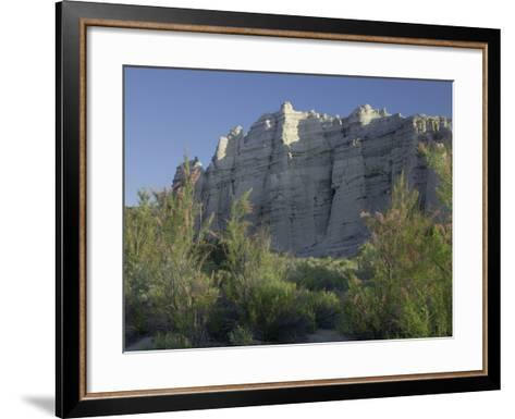 Plaza Blanca Near Abiquiu, New Mexico, Usa-Tim Fitzharris-Framed Art Print