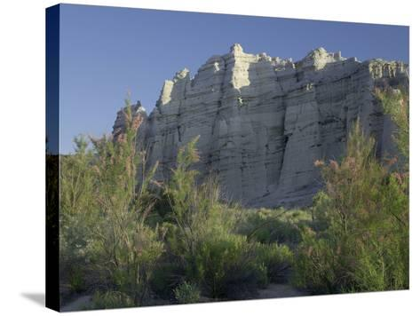 Plaza Blanca Near Abiquiu, New Mexico, Usa-Tim Fitzharris-Stretched Canvas Print