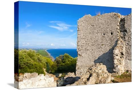 Temple of Acropolis on Capitoline Hill, Tirrenian Vulci's Coast, Grosseto Province, Tuscany, Italy-Nico Tondini-Stretched Canvas Print