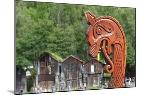 Unesco World Heritage Site. Viking Ship Replica. Geiranger, Norway-Tom Norring-Mounted Photographic Print