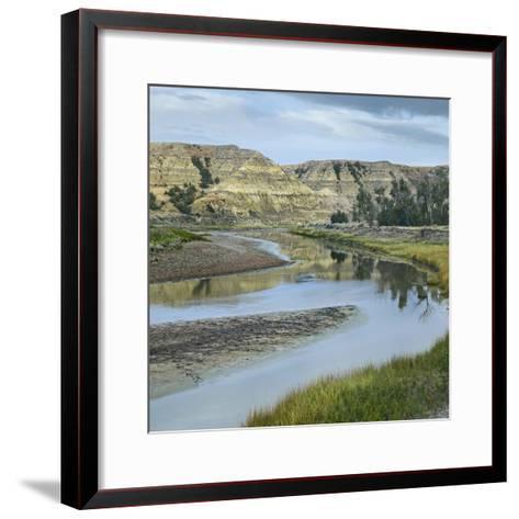 Little Missouri River, Theodore Roosevelt National Park, North Dakota-Tim Fitzharris-Framed Art Print