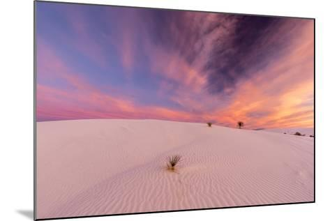 New Mexico, White Sands National Monument. Sunrise on Desert Sand-Jaynes Gallery-Mounted Photographic Print