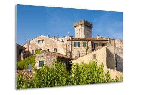 Medieval Fortress, Capalbio, Grosseto Province, Tuscany, Italy-Nico Tondini-Metal Print