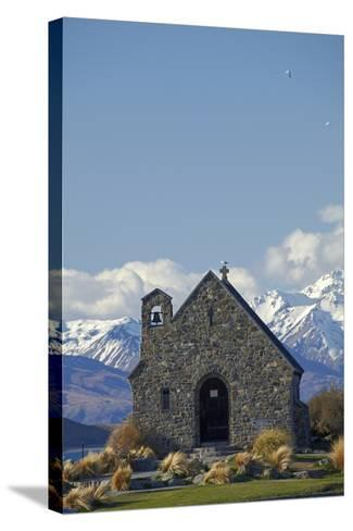 Church of the Good Shepherd, Lake Tekapo, South Island, New Zealand-David Wall-Stretched Canvas Print
