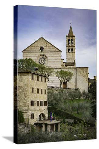 Basilica Di Santa Chiara, Assisi, Umbria, Italy-Brian Jannsen-Stretched Canvas Print