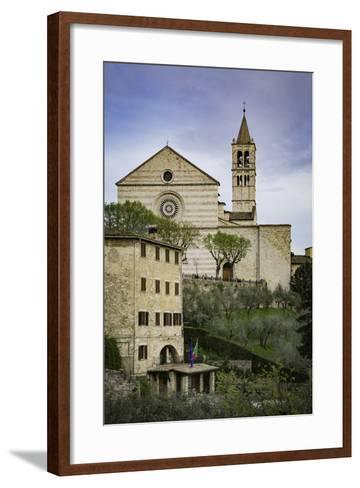 Basilica Di Santa Chiara, Assisi, Umbria, Italy-Brian Jannsen-Framed Art Print
