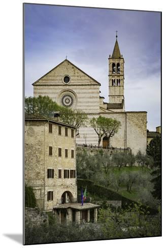 Basilica Di Santa Chiara, Assisi, Umbria, Italy-Brian Jannsen-Mounted Photographic Print