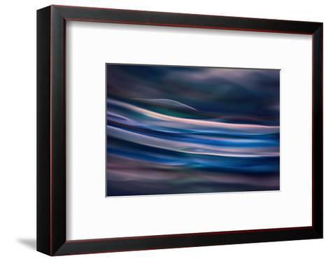 Blue Ice Morning-Ursula Abresch-Framed Art Print