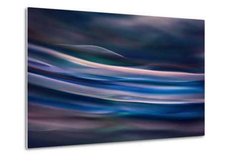 Blue Ice Morning-Ursula Abresch-Metal Print