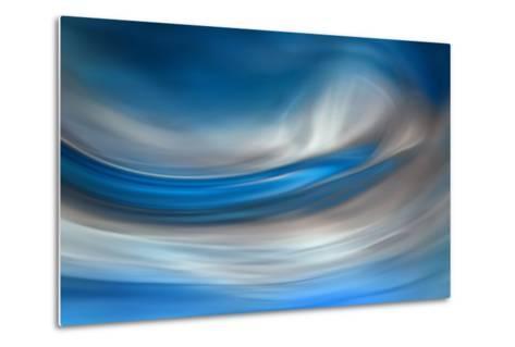 Blue Feather-Ursula Abresch-Metal Print