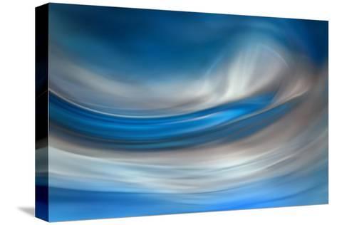 Blue Feather-Ursula Abresch-Stretched Canvas Print