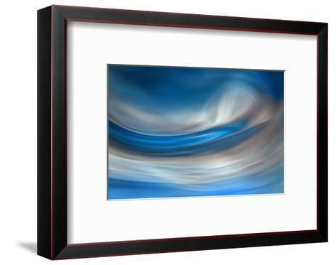 Blue Feather-Ursula Abresch-Framed Art Print