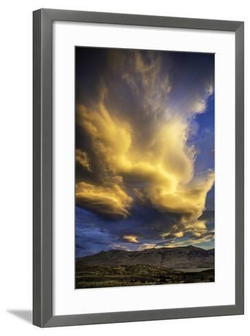 Cloud Burst - Chile-Art Wolfe-Framed Art Print