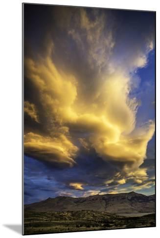 Cloud Burst - Chile-Art Wolfe-Mounted Photographic Print