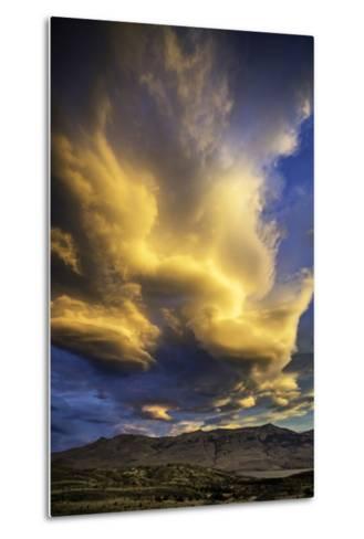 Cloud Burst - Chile-Art Wolfe-Metal Print