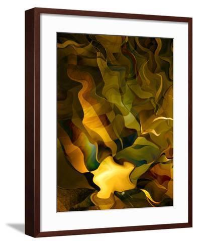 Odyssey in Gold-Doug Chinnery-Framed Art Print