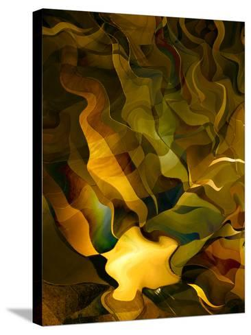 Odyssey in Gold-Doug Chinnery-Stretched Canvas Print