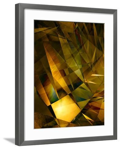 Fire-Doug Chinnery-Framed Art Print