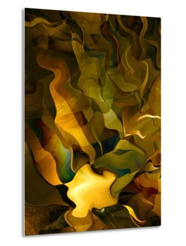 Odyssey in Gold-Doug Chinnery-Metal Print