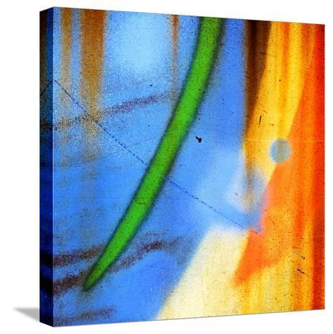 The Man on the Moon Is Taking a Bath-Ursula Abresch-Stretched Canvas Print