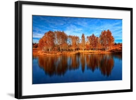 Back from the Edge-Philippe Sainte-Laudy-Framed Art Print