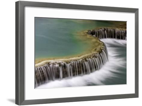 Waterfall in Laos-Art Wolfe-Framed Art Print