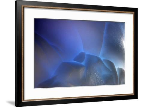 Antarctica Glacial Ice-Art Wolfe-Framed Art Print