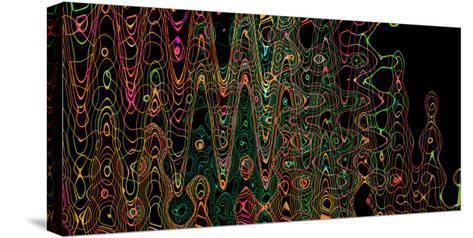 Color Play II-Heidi Westum-Stretched Canvas Print