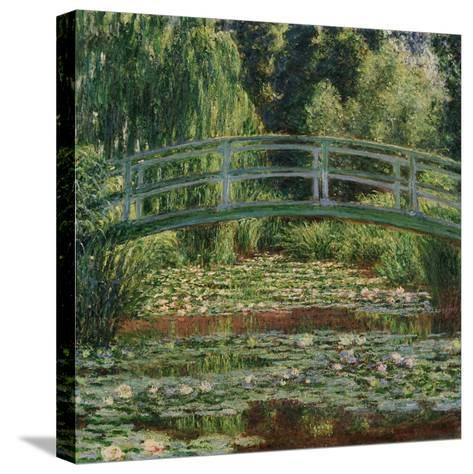 Water Lily Pool, 1899-Claude Monet-Stretched Canvas Print