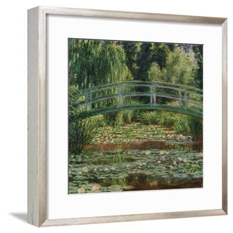 Water Lily Pool, 1899-Claude Monet-Framed Art Print