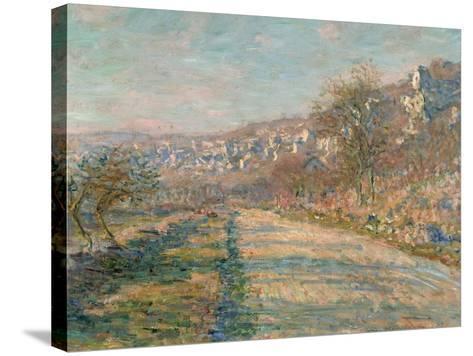 La Roche-Guyon, 1880-Claude Monet-Stretched Canvas Print