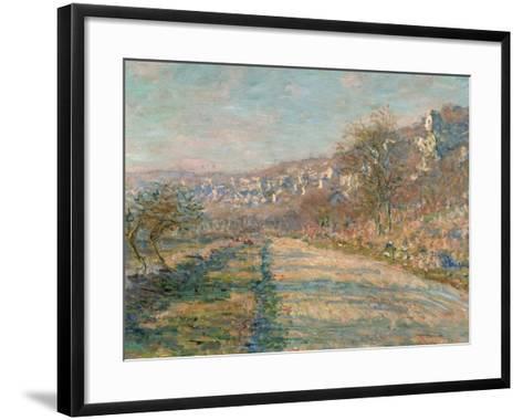 La Roche-Guyon, 1880-Claude Monet-Framed Art Print