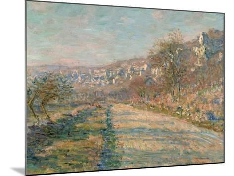 La Roche-Guyon, 1880-Claude Monet-Mounted Giclee Print