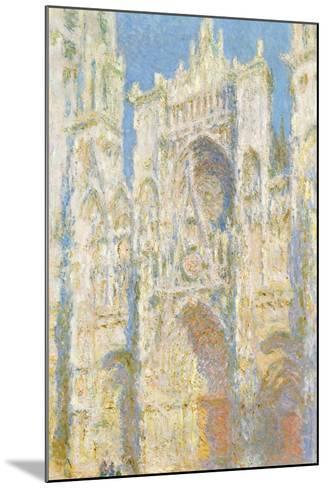 Rouen Cathedral-Claude Monet-Mounted Giclee Print