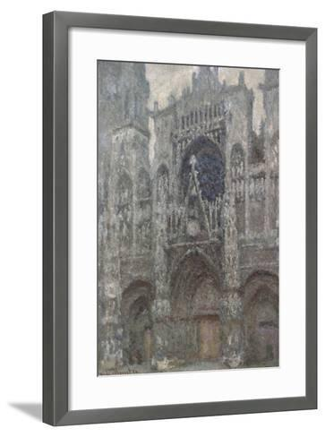 Rouen Cathedral-Claude Monet-Framed Art Print
