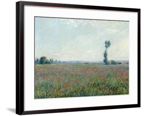 Poppy Field, 1881-Claude Monet-Framed Art Print