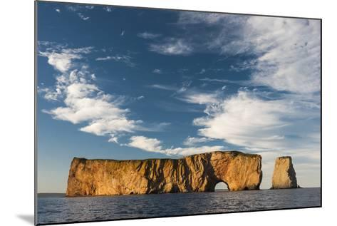 Perce Rock in the Gulf of Saint Lawrence-David Doubilet-Mounted Photographic Print
