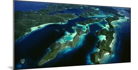 Karst Beehive Islands That Form the Wayag Island Group in Raja Ampat, Indonesia-David Doubilet-Mounted Photographic Print