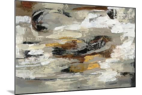 Neutral Abstract Gray-Silvia Vassileva-Mounted Art Print