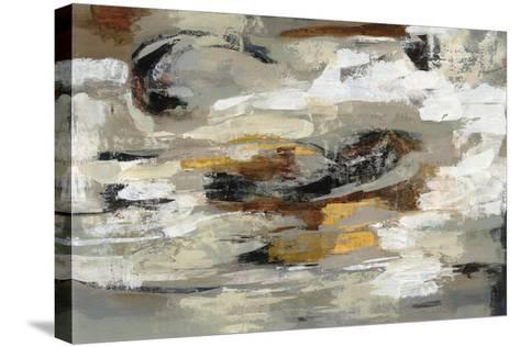 Neutral Abstract Gray-Silvia Vassileva-Stretched Canvas Print