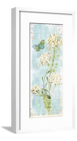 Botany Blue III-Sue Schlabach-Framed Art Print