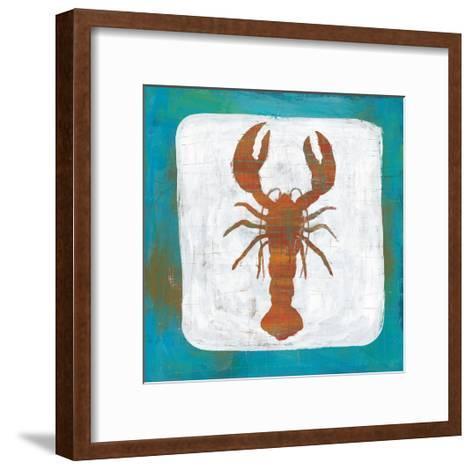 Ahoy II Red Blue-Melissa Averinos-Framed Art Print