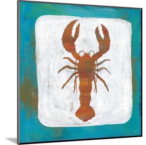 Ahoy II Red Blue-Melissa Averinos-Mounted Art Print